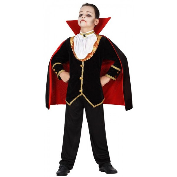 D guisement vampire luxe enfant halloween la magie du deguisement halloween gar on - Deguisement halloween fille vampire ...