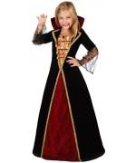 Déguisement de vampire pour fille de 3 à 12 ans - costume halloween
