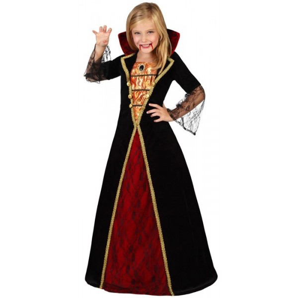 d guisement vampire luxe fille la magie du d guisement halloween enfant. Black Bedroom Furniture Sets. Home Design Ideas