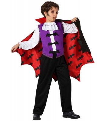 Déguisement vampire garçon chauve-souris