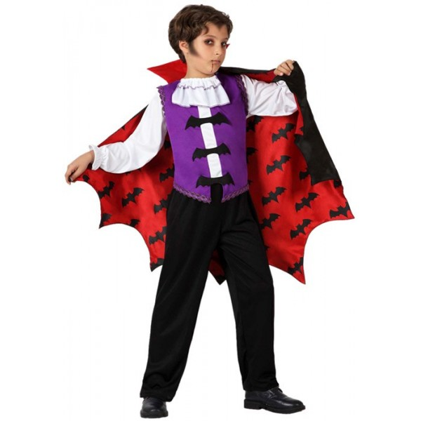 d guisement de vampire halloween gar on la magie du deguisement personnage halloween enfant. Black Bedroom Furniture Sets. Home Design Ideas