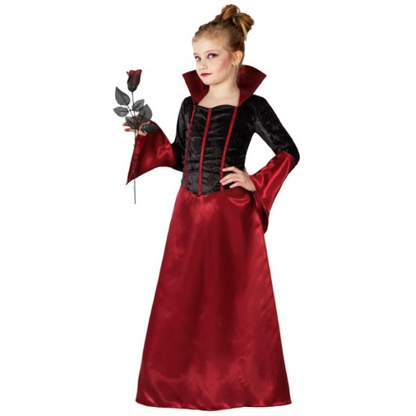 Deguisement fille robe rouge