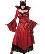 deguisement diablesse luxe femme halloween - costumes diablesses