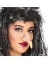 Nez de sorcière avec verrue idéal pour compléter votre déguisement de sorcière