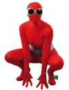 Déguisement Frott'Man™ rouge avec accessoires disco
