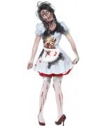 deguisement Dorothée zombie, le magicien d'oz - costume halloween